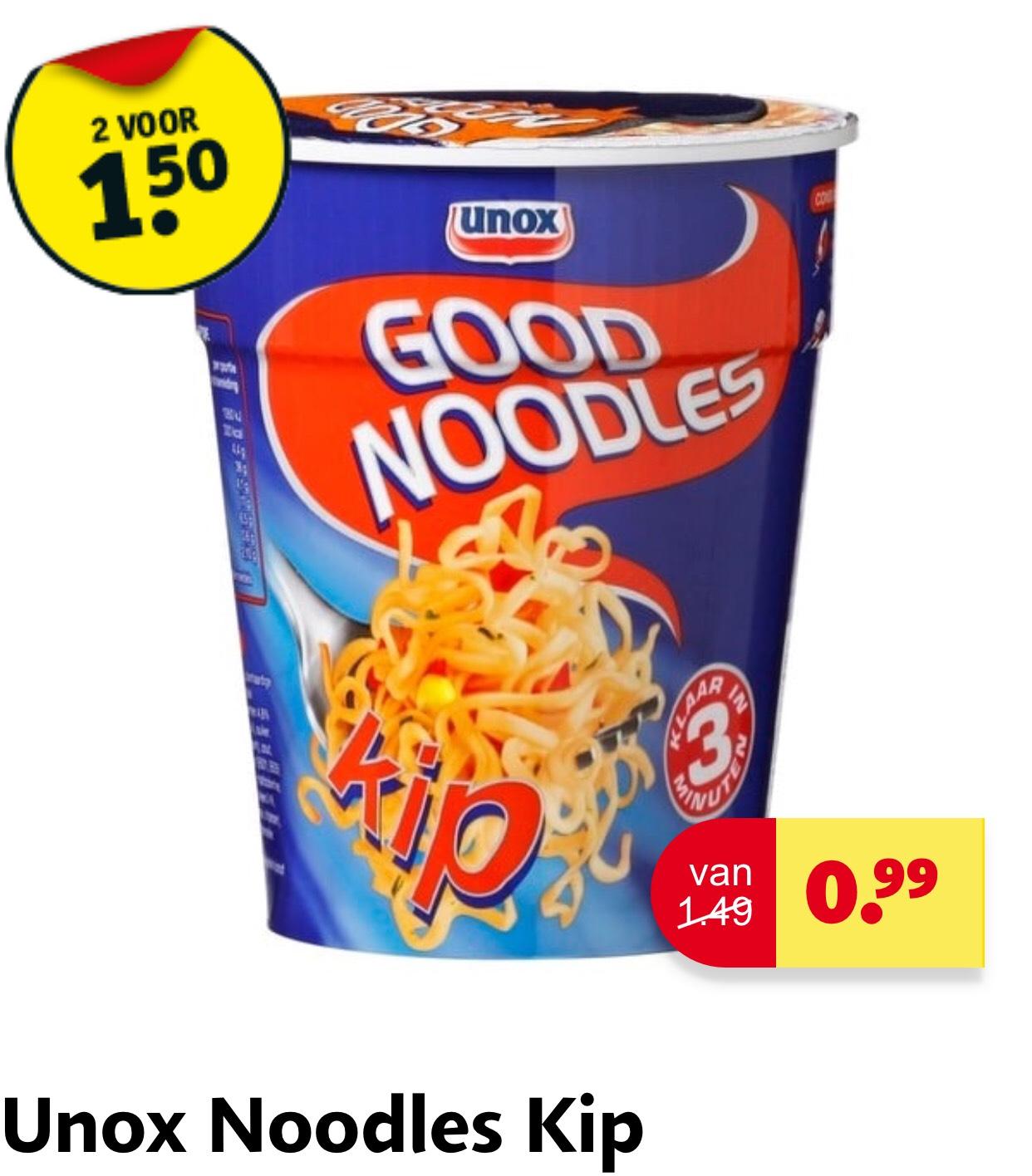 [Kruidvat] Unox Good Noodles kip