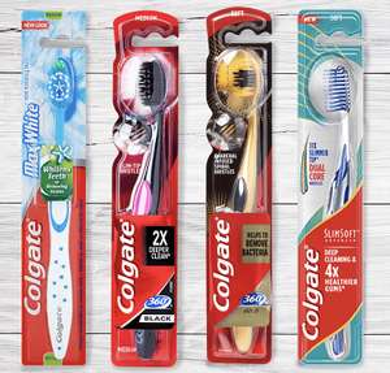 50% cashback op Colgate premium tandenborstels @Scoupy