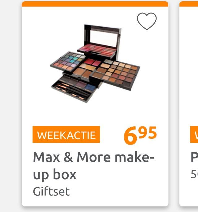 Max & More make-up box Giftset