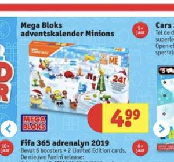 Minion mega bloks adventskalender