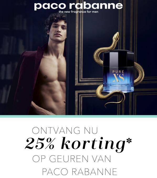25% korting op Paco Rabanne @Douglas