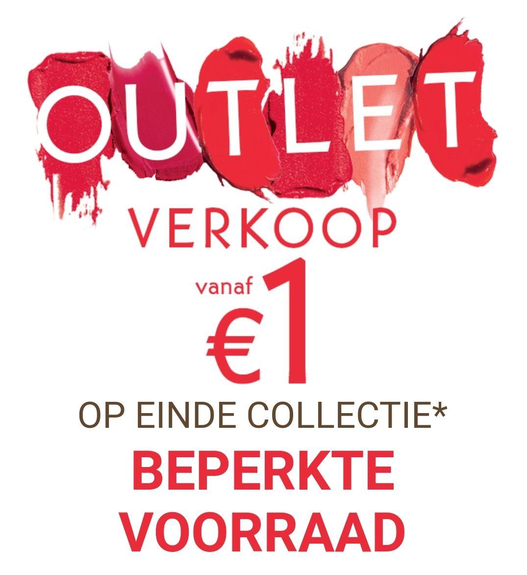 Outlet verkoop Yves Rocher. Vanaf €1 + een cadeau bij elke bestelling