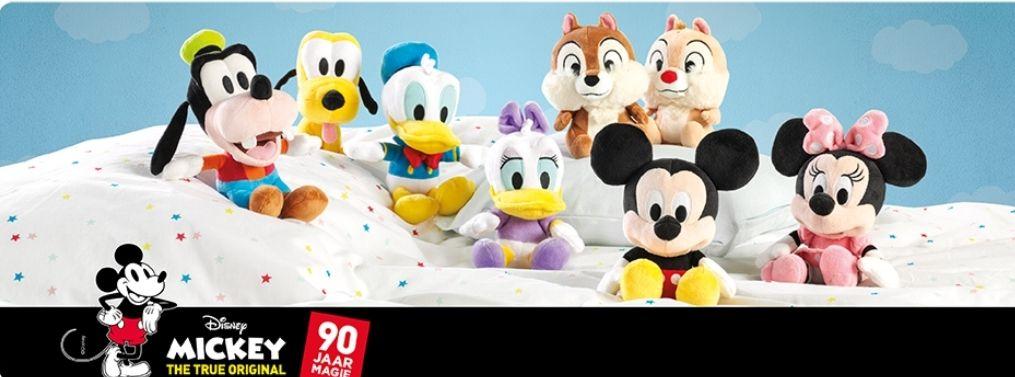 Spaar voor Disney knuffels bij Emté