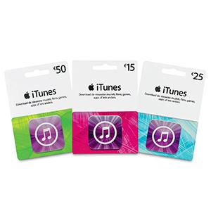 15% korting op iTunes cadeaukaarten - bijv. €15 kaart voor €12,75 @ AH