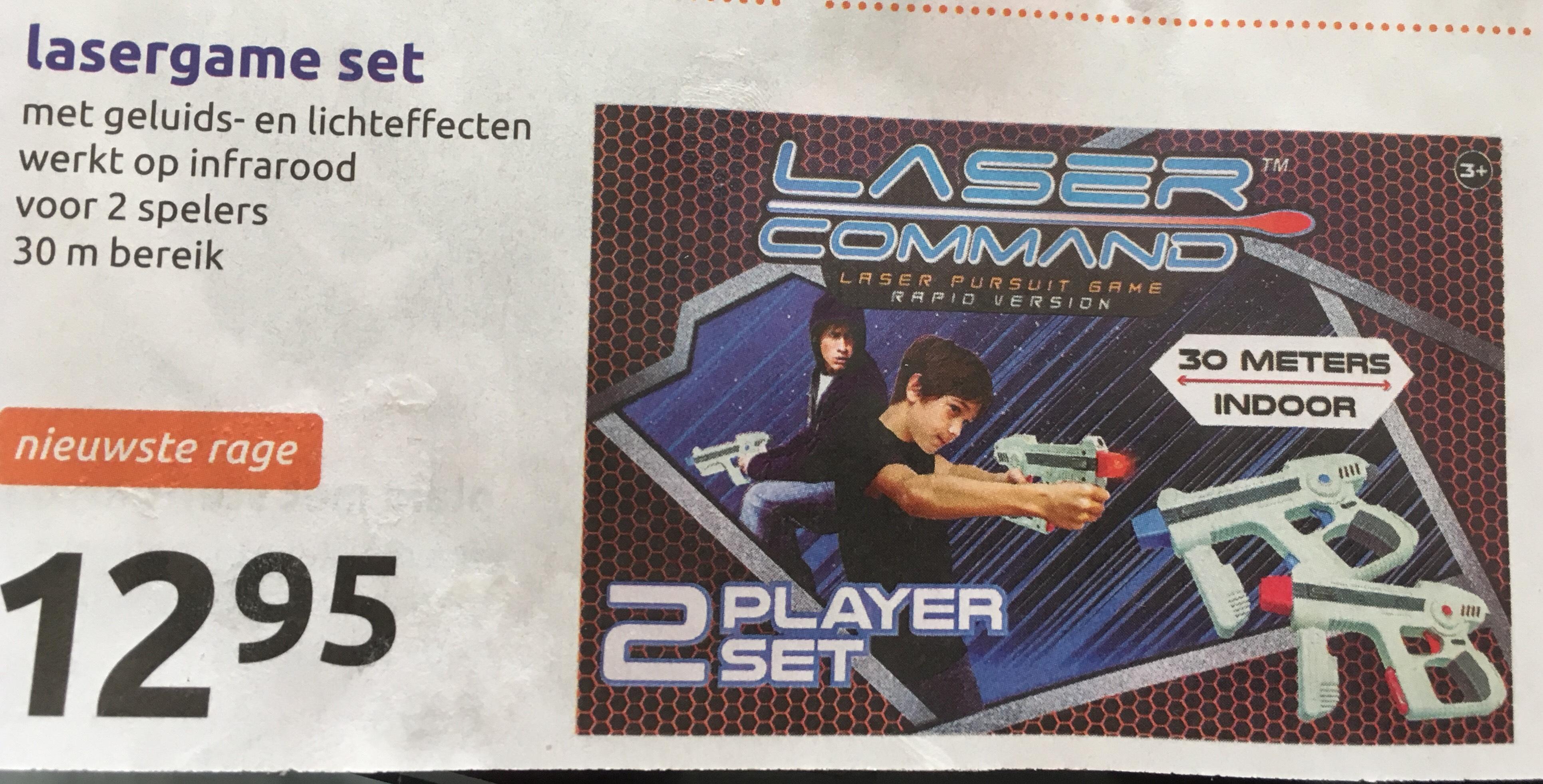 Vette Lasergame set 2 spelers van de Action