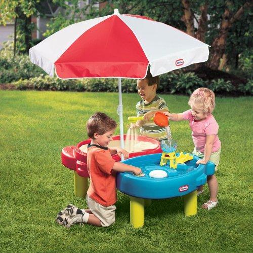 Little Tikes zand en zee speeltafel met parasol voor €43,58 @ Amazon.it