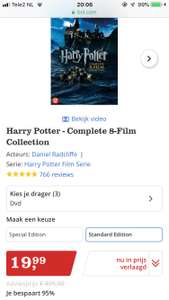 Harry Potter - Complete 8-Film Collection (Bol.com)