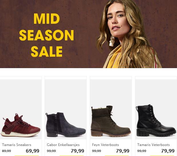 mid season SALE @Ziengs - tot 30% korting op geselecteerde modellen