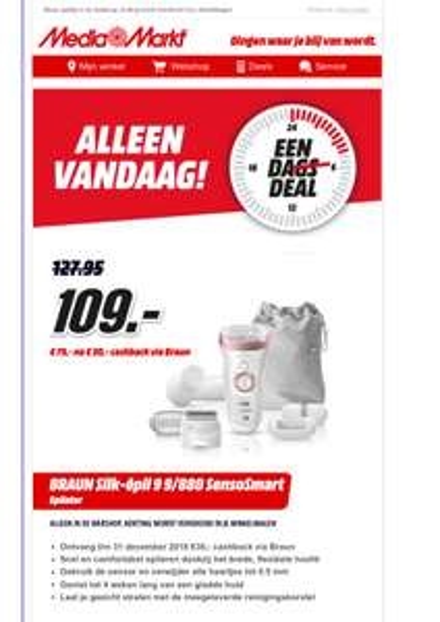 BRAUN Silk-épil 9 9/880 SensoSmart Mediamarkt.nl