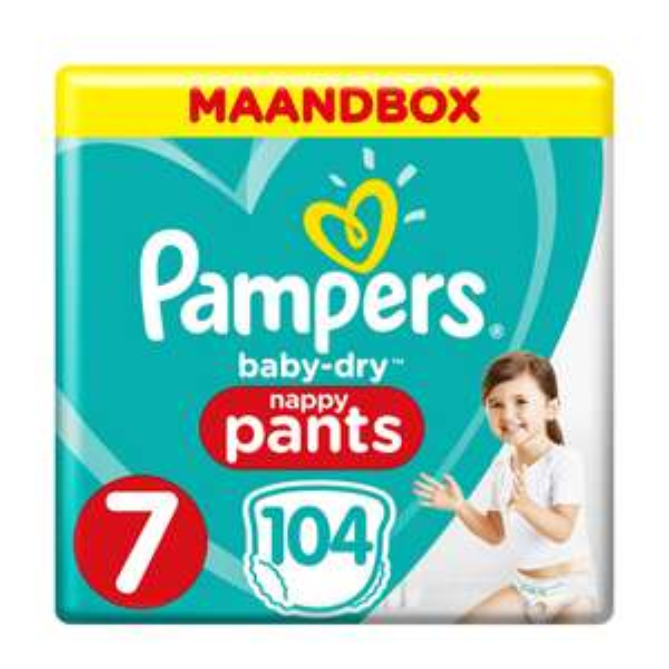 Pampers Baby-Dry Pants maandbox maat 7 voor €19,98 @ Wehkamp
