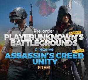 PlayerUnknown's Battlegrounds (PUBG) + AC: Unity (Xbox One download)  voor €9,49 @ CDKeys