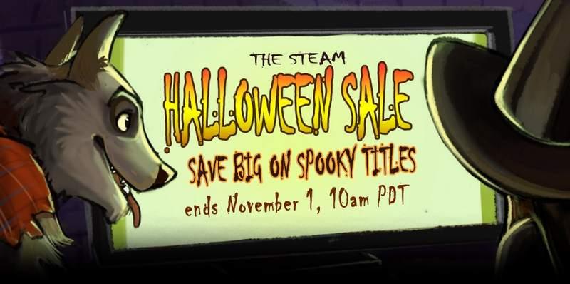 Steam Halloween sale*