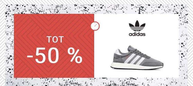 Tot 50% korting op Adidas