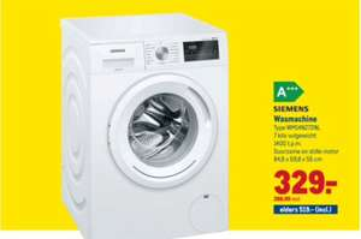 Siemens-wm14n272nl-wasmachine @Makro
