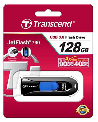 Transcend JetFlash 790 128GB voor €44,73 @ Amazon.de