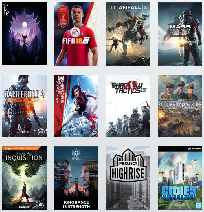 Veel games gratis spelen in de herfstvakantie @ Origin Access