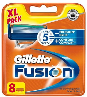51% korting op Gillette Fusion Scheermesjes (8pack) @Drogisterij.net
