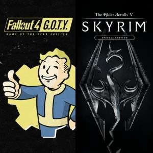 Skyrim Special Edition + Fallout 4 G.O.T.Y. Bundle - PS Store (29,99)