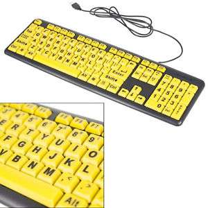 Extra grote letters toetsenbord voor €10,92