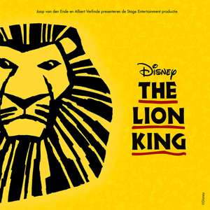 Tot 50% korting op de musical Disney's The Lion King @Optimel