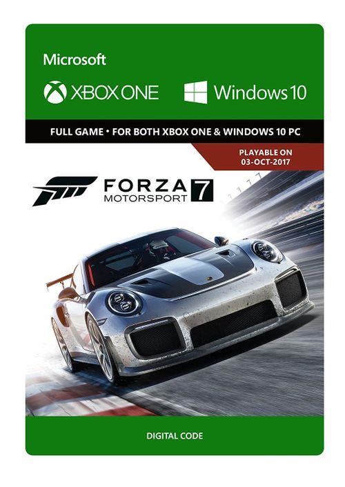 Forza Motorsport 7: Standard Edition (Xbox One + PC code) voor €19,88 @ CDKeys