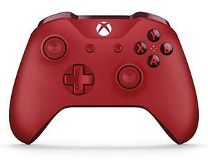 Xbox one controller in rood, of de minecraft editie
