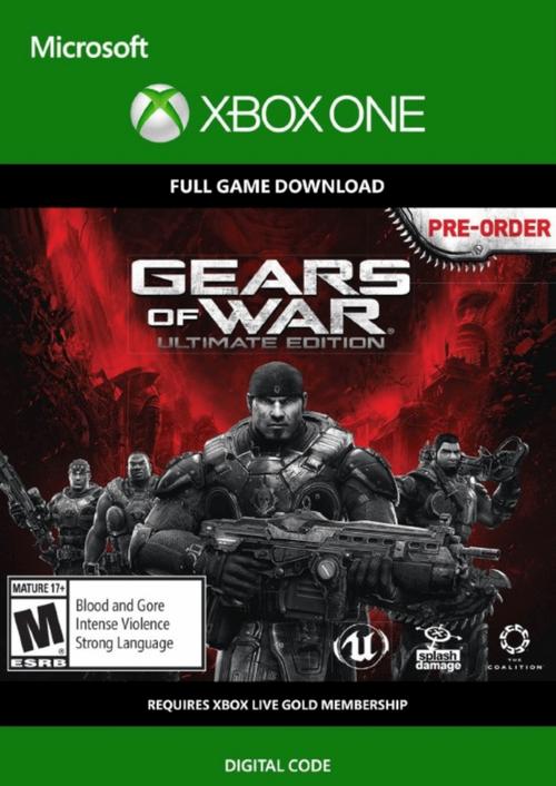 Gears of War: Ultimate Edition Xbox One @CDKeys