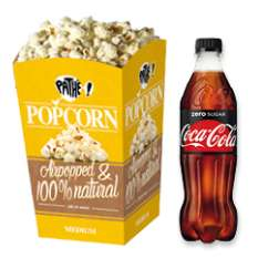 GRATIS Popcorn (medium) + frisdrank @ Pathé