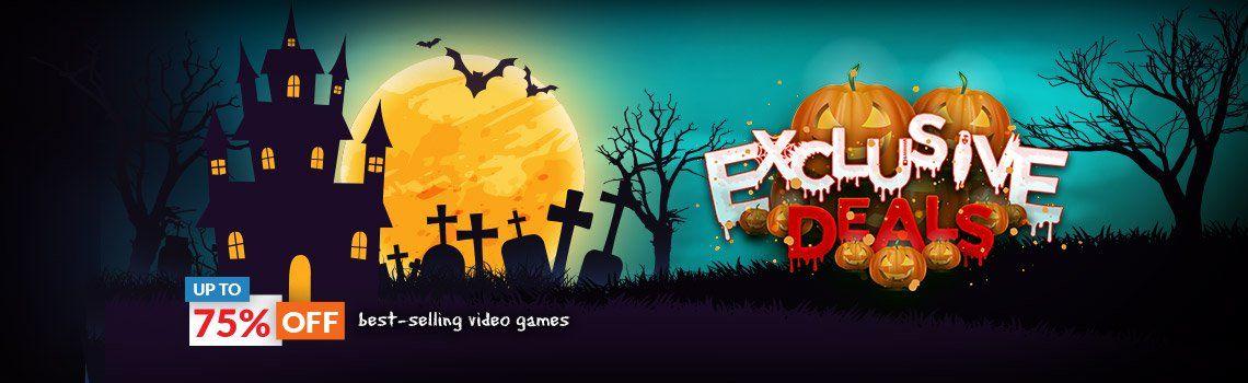 Halloween sale bij cdkeys.com tot 75% korting