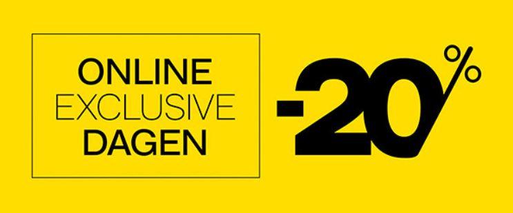 Online exclusive dagen: -20% korting @ Van Haren