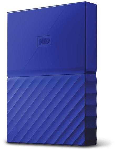 WD My Passport 2TB Blauw voor €64,99 @ Azerty