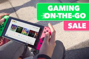Nintendo Switch 'on the go' eShop sales