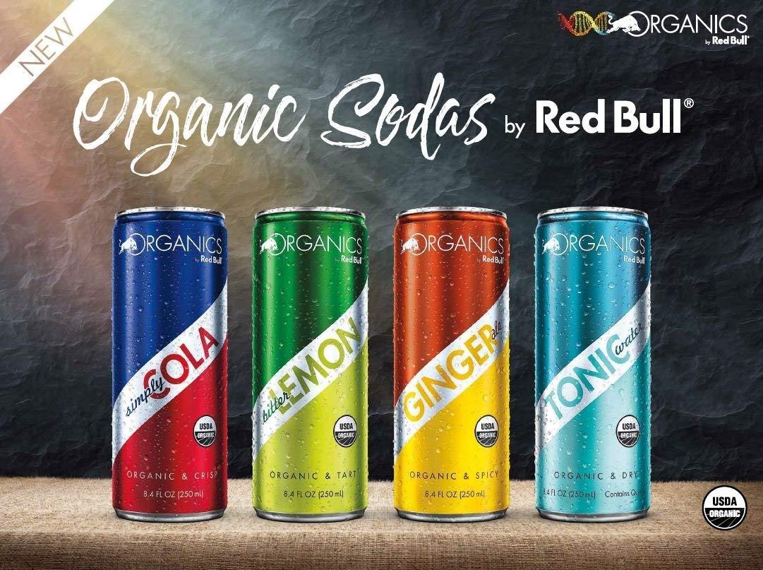 Organics by Red Bull 1+1 gratis bij Coop en Jumbo, 2 stuks voor 1,29