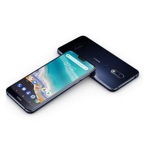 Nokia 7.1 voor €235,69 met cashback & maandelijks opzegbaar Tele2