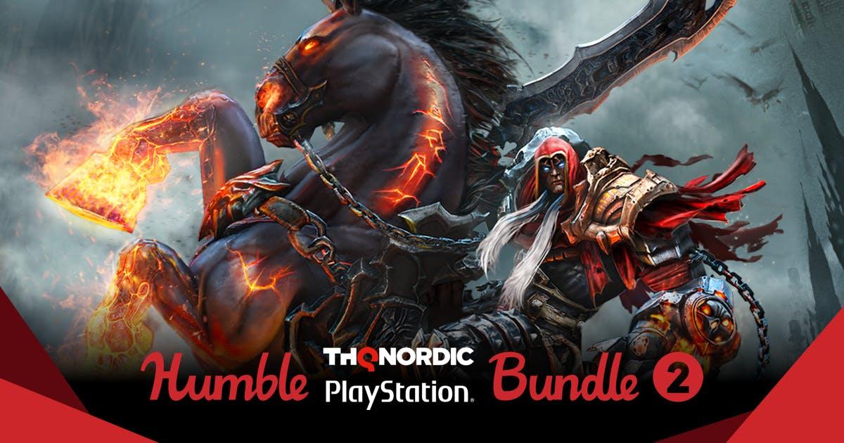 Humble THQ Nordic PlayStation Bundle 2 vanaf €0,88 @ Humblebundle