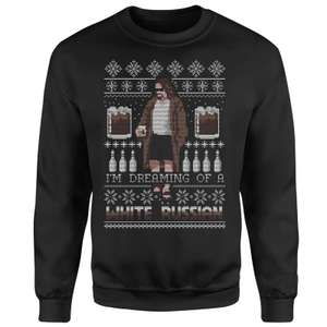 The Big Lebowski 'I'm Dreaming Of A White Russian' kersttrui