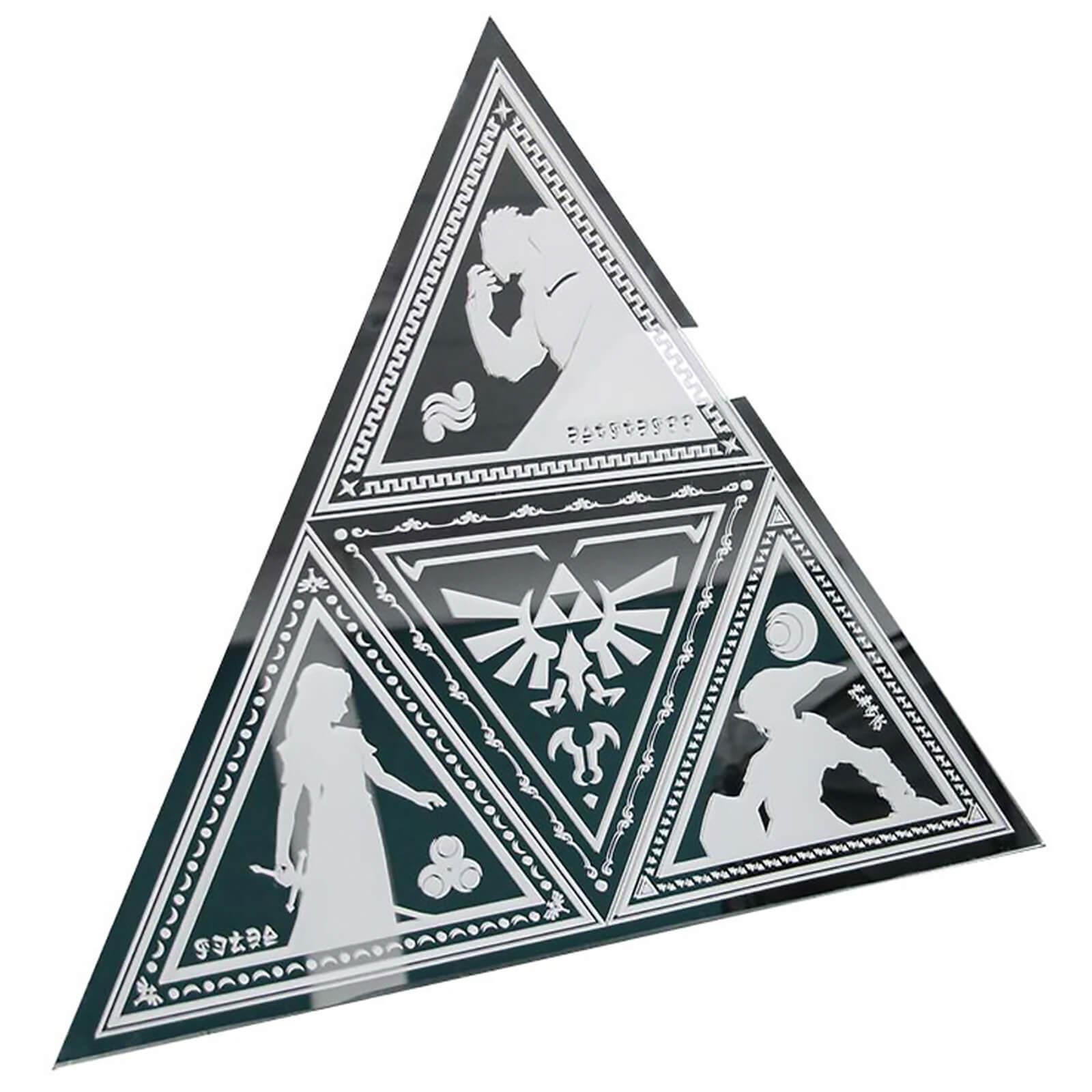 The Legend of Zelda Triforce spiegel voor €15,43 @ Zavvi