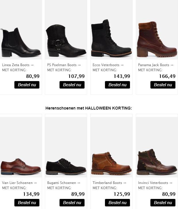 10% korting op alle schoenen @Ziengs