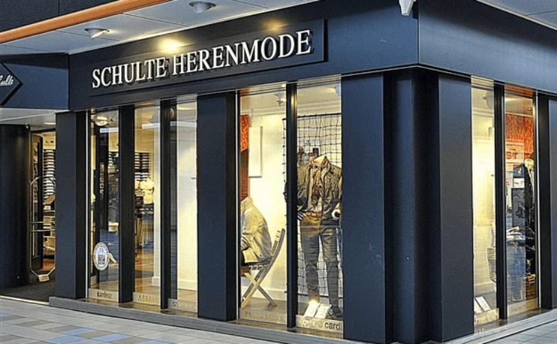 €25,- korting bij besteding van minimaal €125,- bij Schulte Herenmode