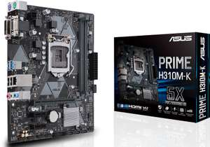 Asus Prime H310M-K Intel H310 (Socket 1151) - Black Friday(Peek) @Azerty