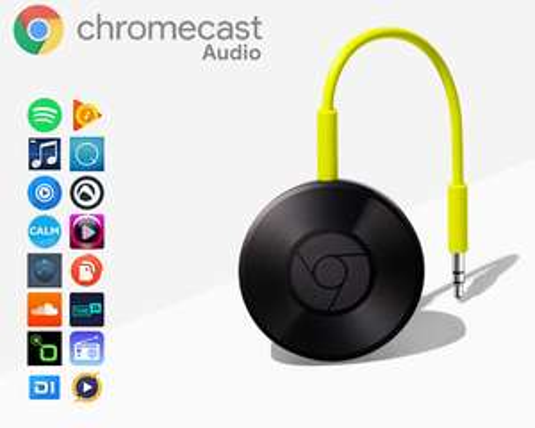 Google Chromecast Audio @ 1dayfly
