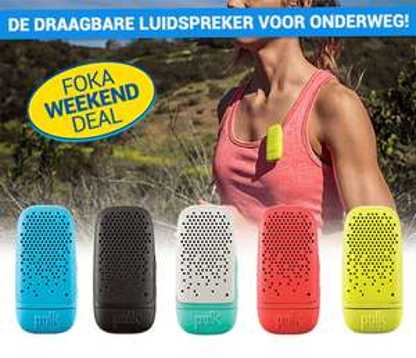 Polk BIT bluetooth luidspreker voor €9,99 @ Foka