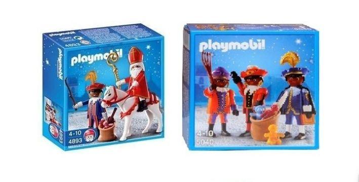 Playmobil Sinterklaas en Piet of Pakjespieten voor €7.99 i.p.v. €34.99 bij Trekpleister