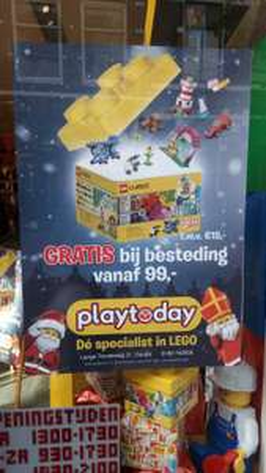 Gratis Lego Classic box bij besteding vanaf 99 euro