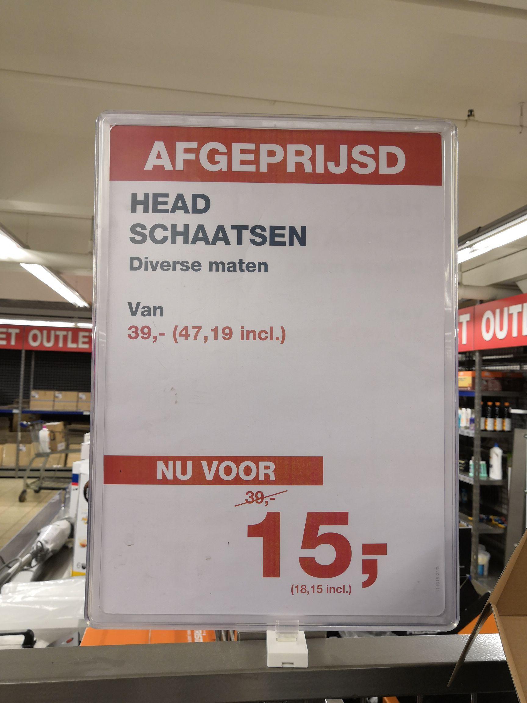 Head kinderschaatsen voor €18,15 @Makro Delft