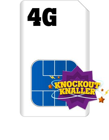 Tele2 Knockout knaller weekend deal 20GB bundel voor de prijs van een 10GB bundel