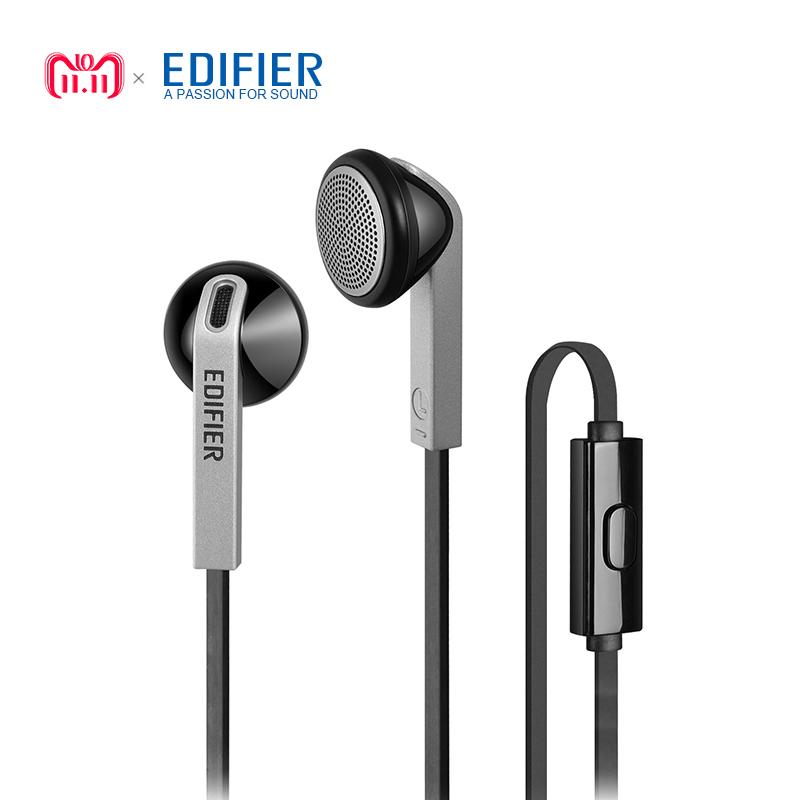 11NOV: witte in-ear earphones met mic (edifier p190). 8,91eur. -50%