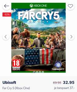 Far Cry 5 - Standard Edition Xbox One €29,71 || Wehkamp