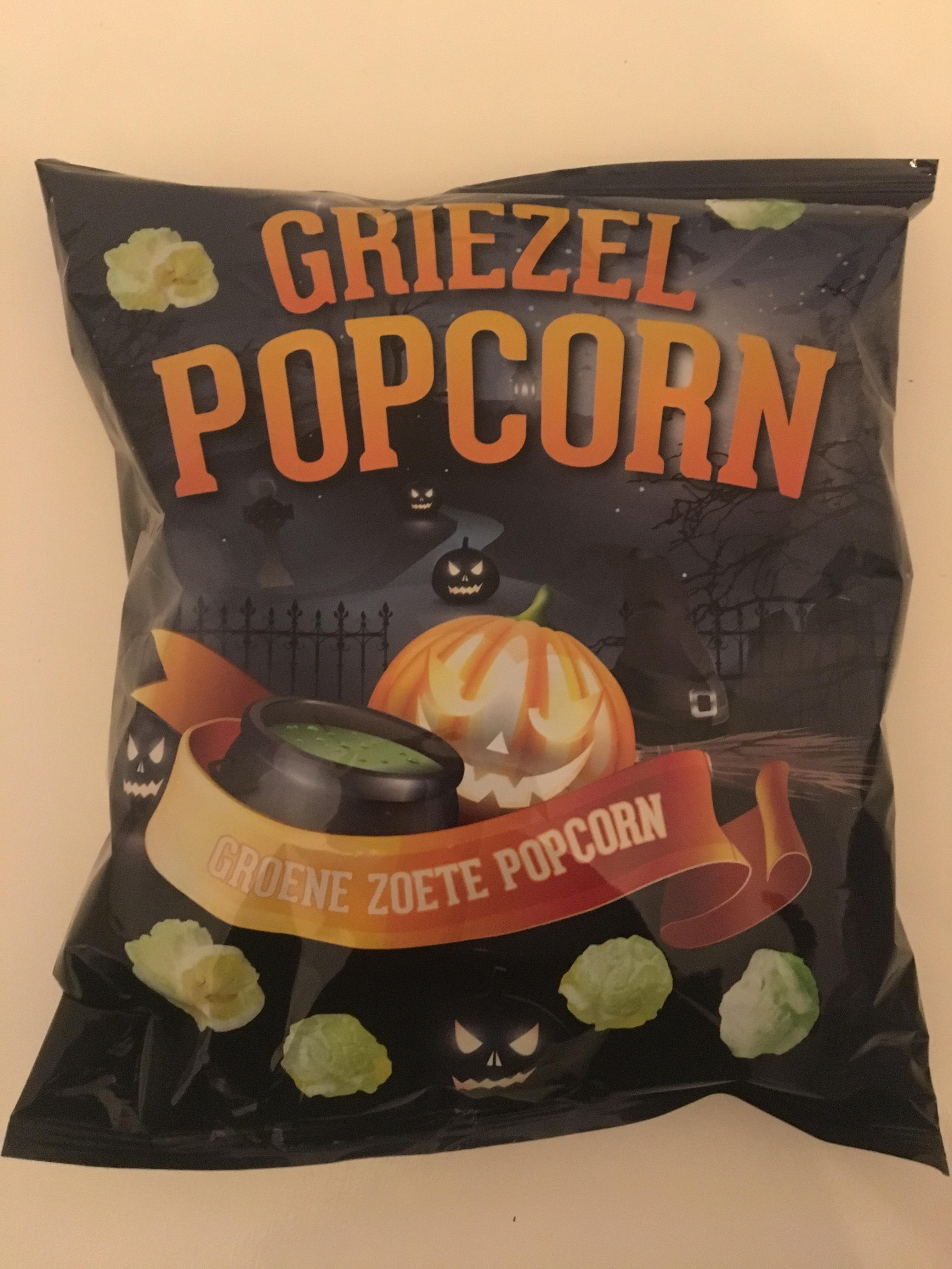 Griezel popcorn voor 0,25 bij de jumbo
