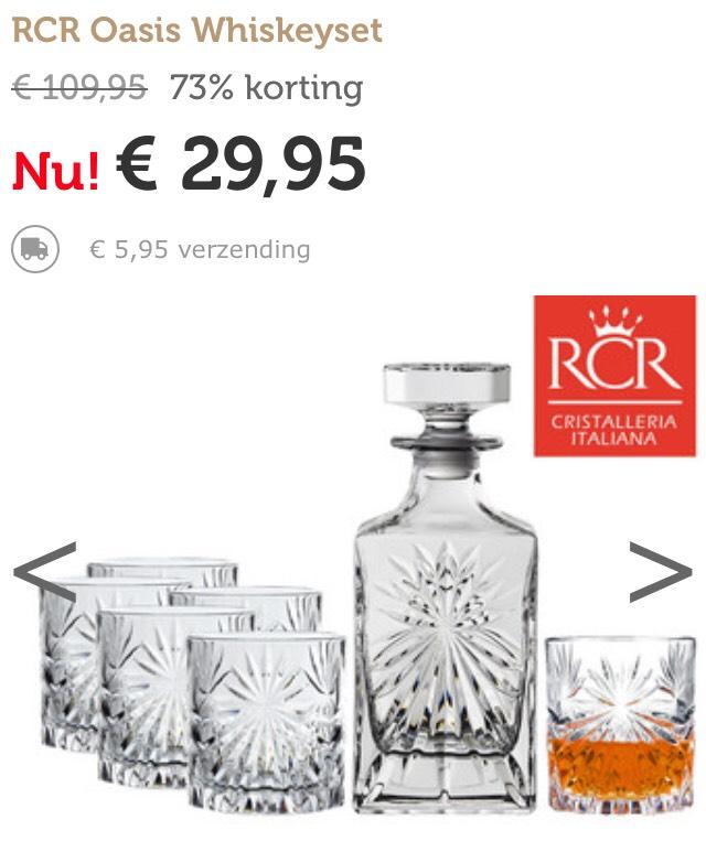 RCR Oasis Whiskeyset